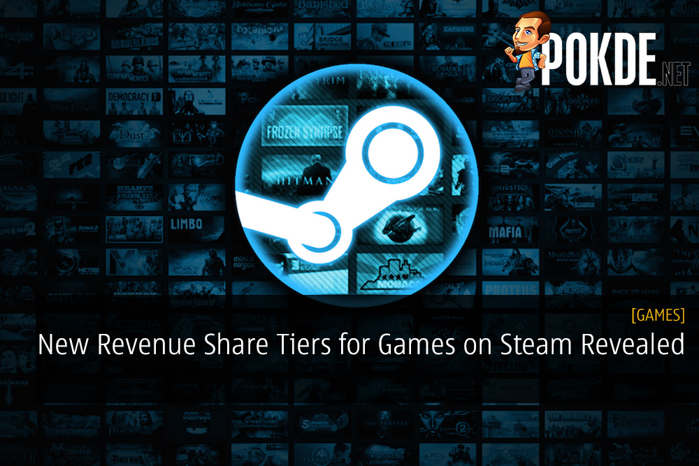 New Revenue Share Tiers for Games on Steam Revealed