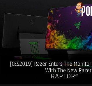 [CES2019] Razer Enters The Monitor Market With The New Razer Raptor 39