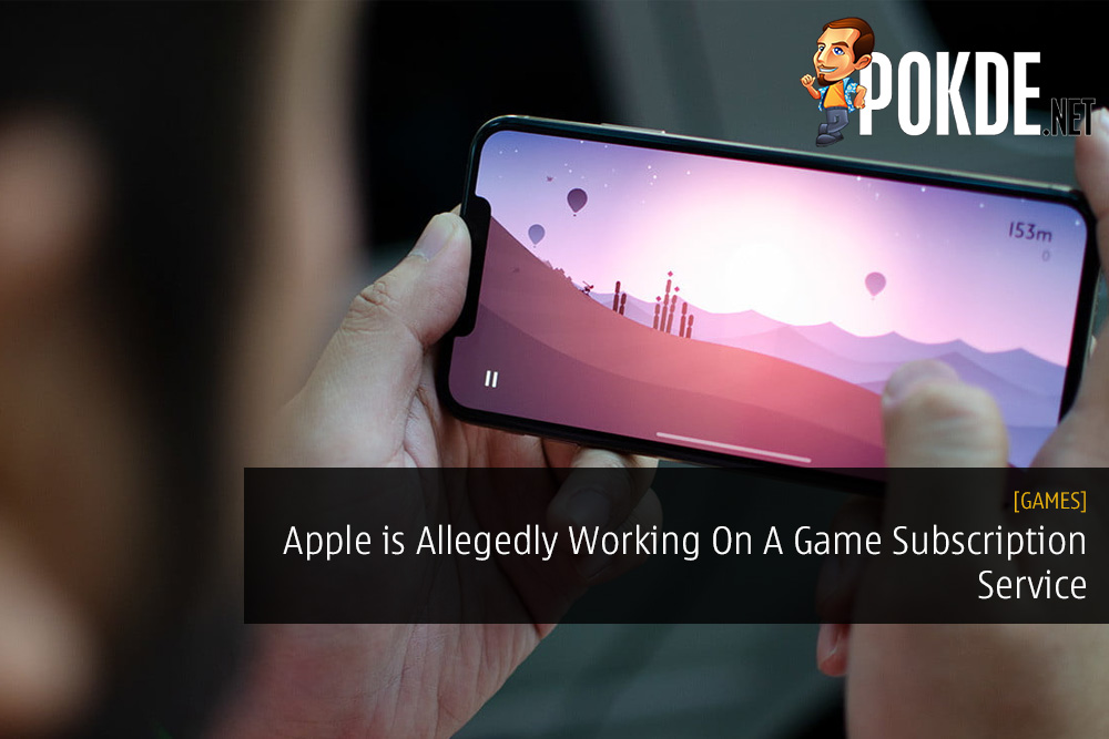 Apple is Allegedly Working On A Game Subscription Service