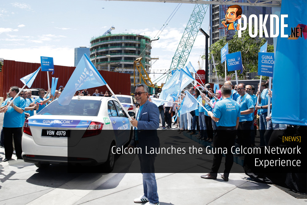 Celcom Launches the Guna Celcom Network Experience