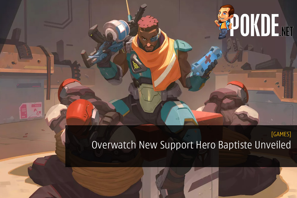 Overwatch New Support Hero Baptiste Unveiled