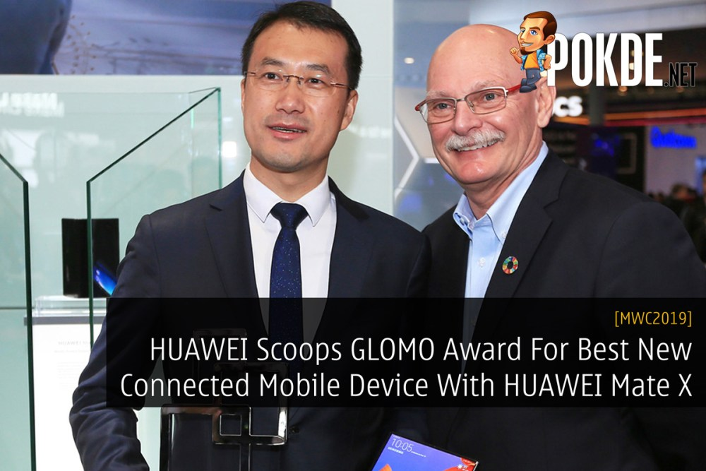 [MWC2019] HUAWEI Scoops GLOMO Award For Best New Connected Mobile Device With HUAWEI Mate X 27