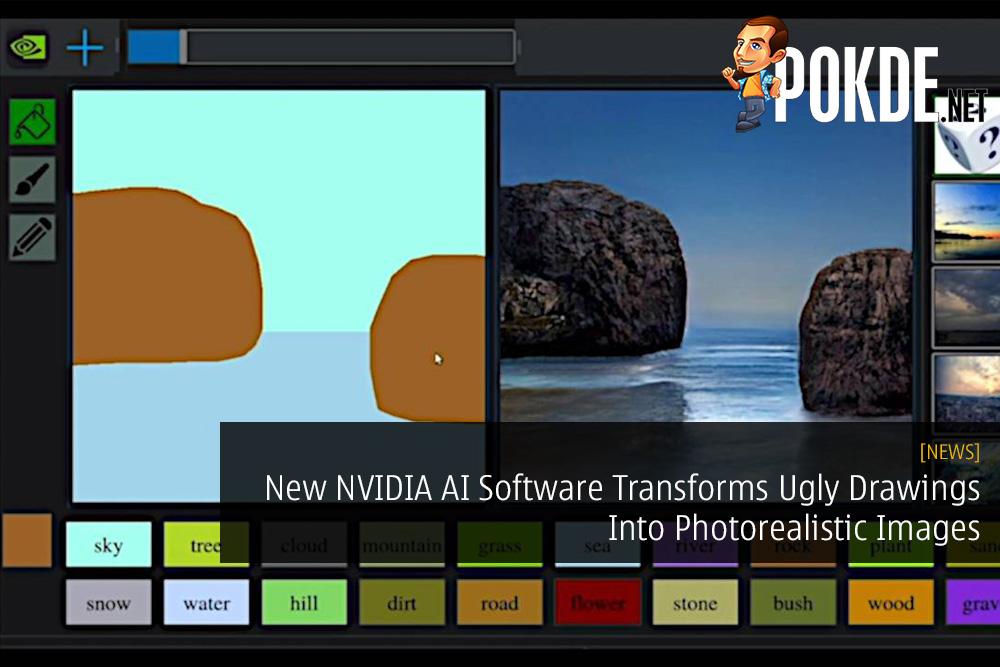New NVIDIA AI Software Transforms Ugly Drawings Into Photorealistic Images gaugan