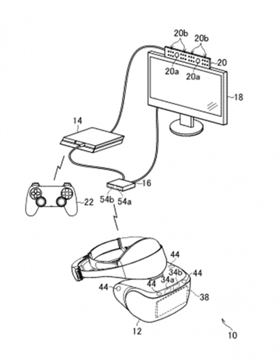 Alleged Wireless PSVR Headset Patent Surfaced