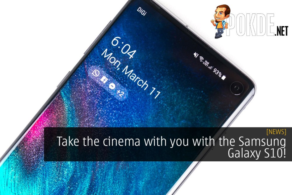 Take the cinema with you with the Samsung Galaxy S10! 29
