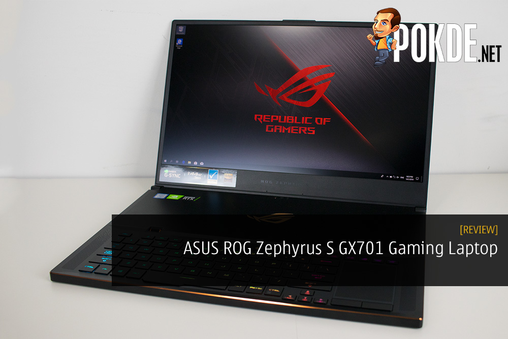 ASUS ROG Zephyrus S GX701 Review - RTX 2080 Max-Q Is A Good