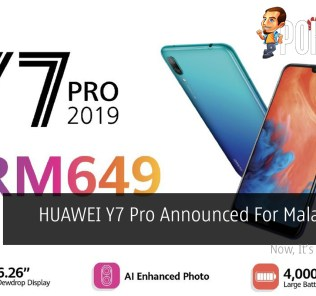 HUAWEI Y7 Pro Announced For Malaysia At RM649 36