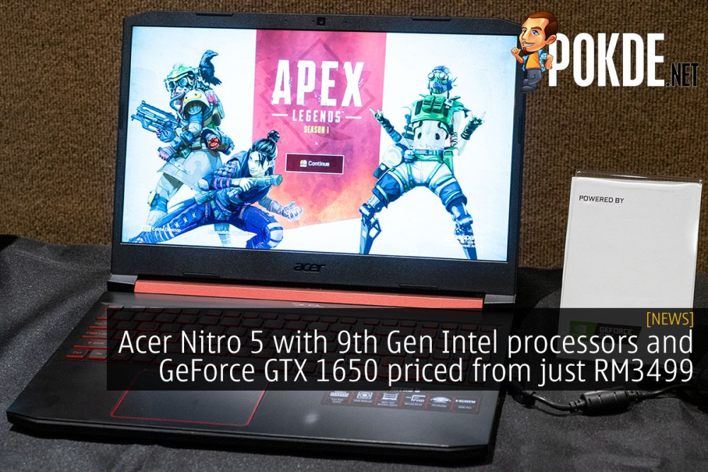Acer Nitro 5 with 9th Gen Intel processors and GeForce GTX 1650 priced from just RM3499 26