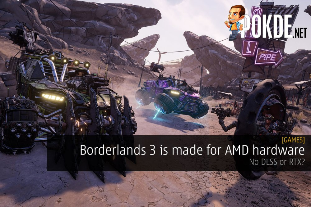 Borderlands 3 is made for AMD hardware — no DLSS or RTX? 32