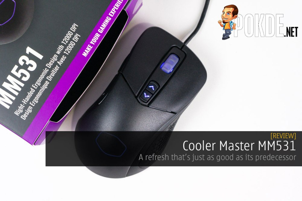 Cooler Master MM531 review — a refresh that's just as good