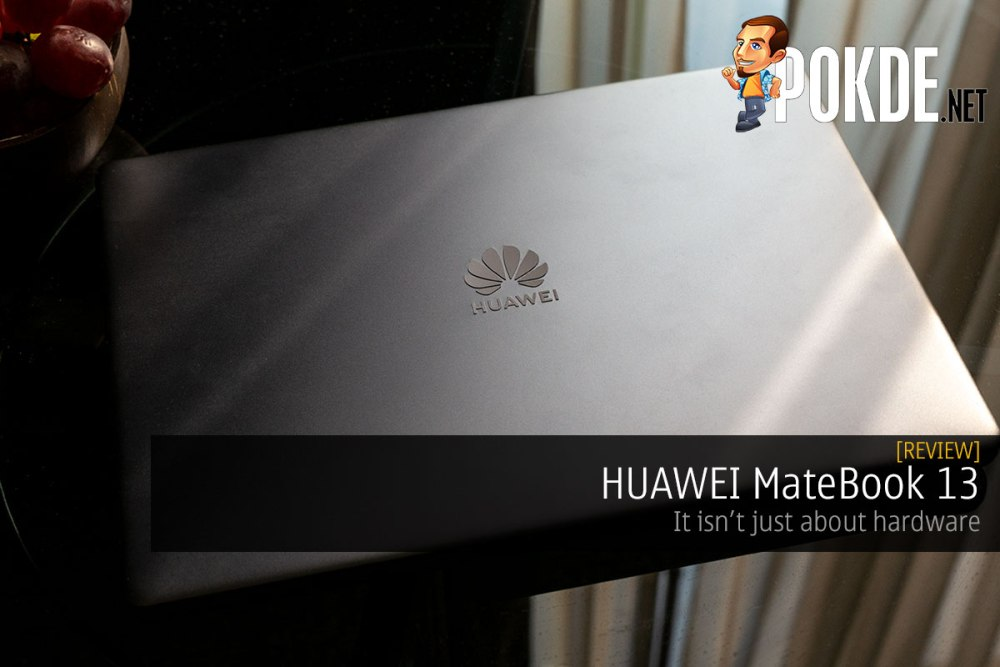 HUAWEI MateBook 13 Review — it isn't just about hardware – Pokde