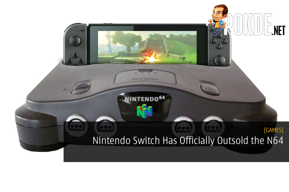 Nintendo Switch Has Officially Outsold the Nintendo 64 Console