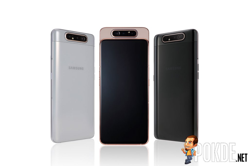 Samsung Galaxy A80 is the illegitimate love child of the OPPO Find X and OPPO N3 23