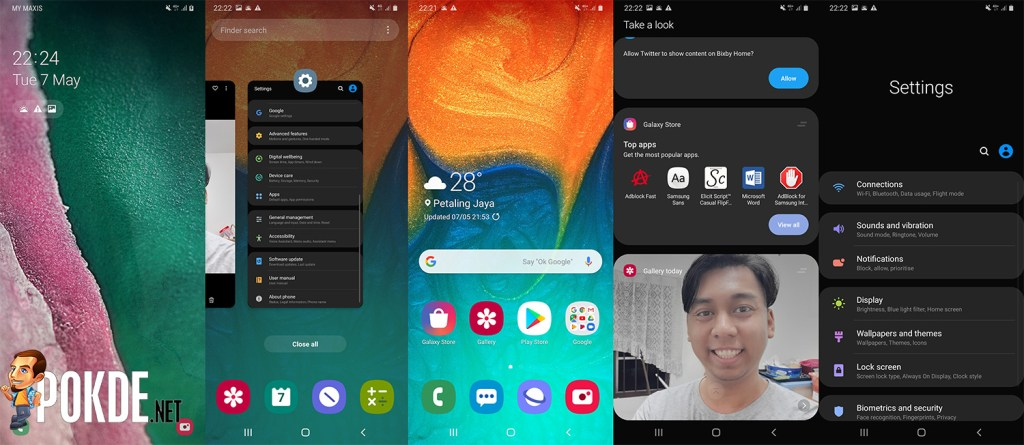 Samsung Galaxy A30 Review Android 9.0 Pie with One UI