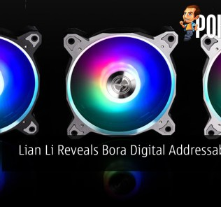 Lian Li Reveals Bora Digital Addressable RGB Fan 36