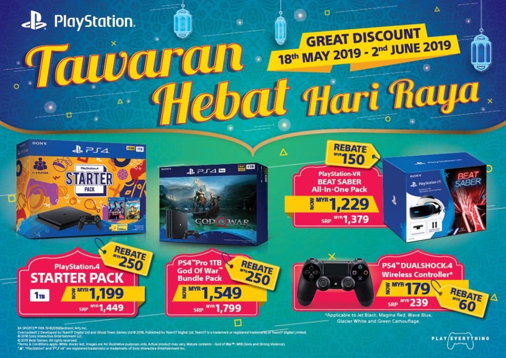 New PlayStation 4 Hari Raya Deals for Malaysia Revealed