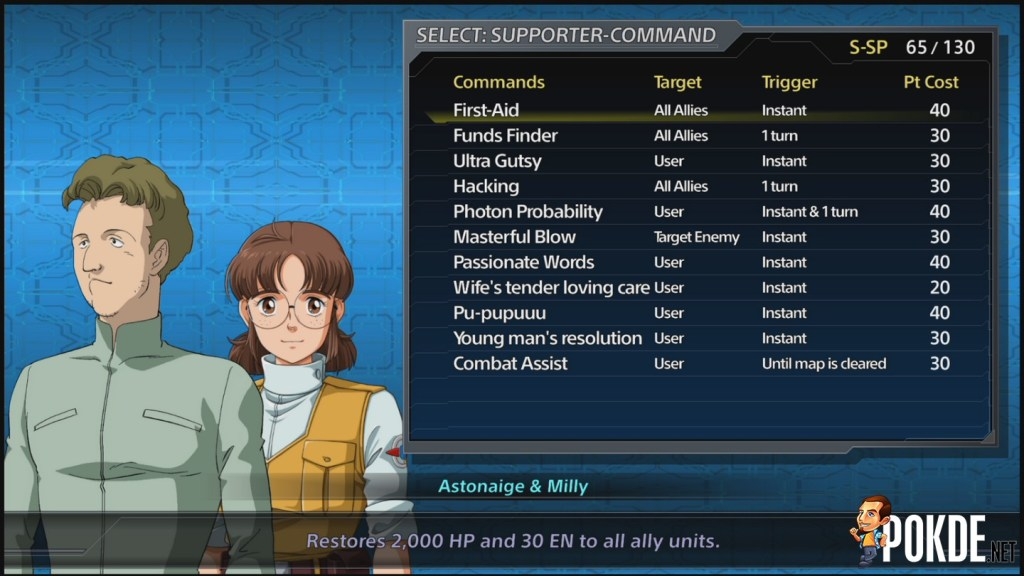 Supporter Spirit Command