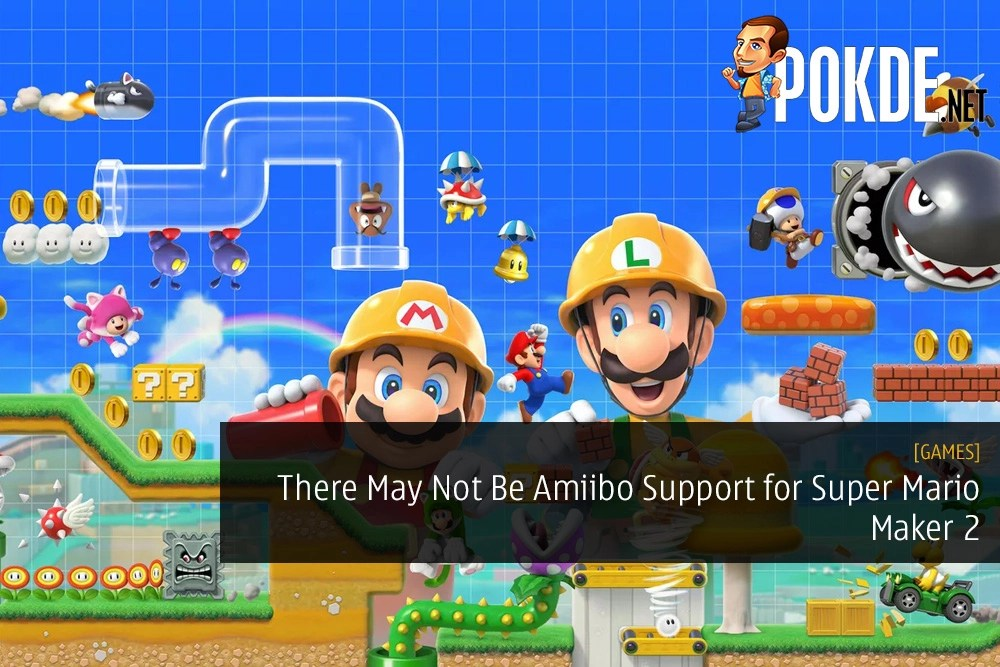 There May Not Be Amiibo Support for Super Mario Maker 2