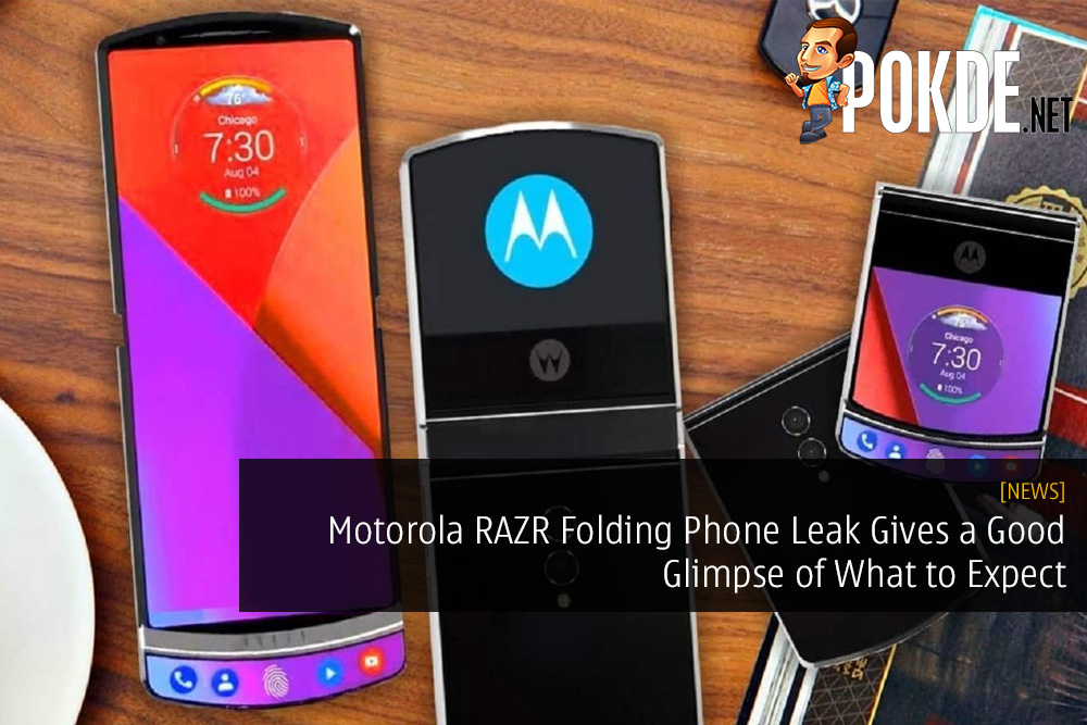 Motorola RAZR Folding Phone Leak Gives a Good Glimpse of What to Expect