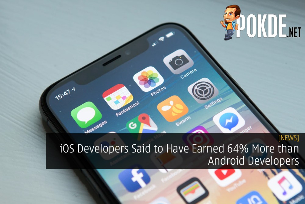 iOS Developers Said to Have Earned 64% More than Android Developers