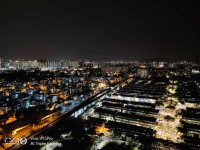 vivo V15 Pro AI Night Mode