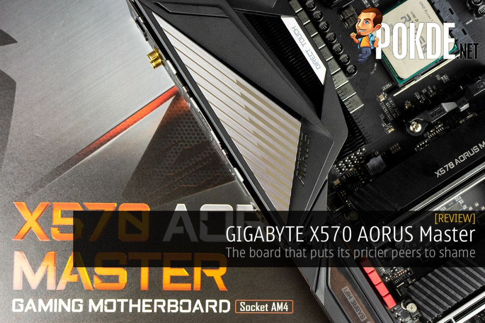 GIGABYTE X570 AORUS Master Review — the board that puts its pricier