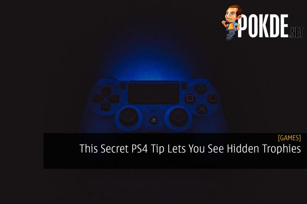 This Secret PS4 Tip Lets You See Hidden Trophies / Achievements