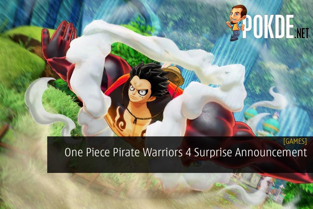 One Piece Pirate Warriors 4 Surprise Announcement