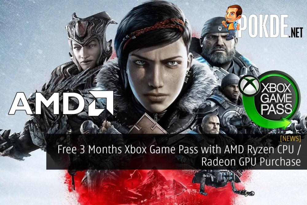 Free 3 Months Xbox Game Pass with AMD Ryzen CPU / Radeon GPU Purchase
