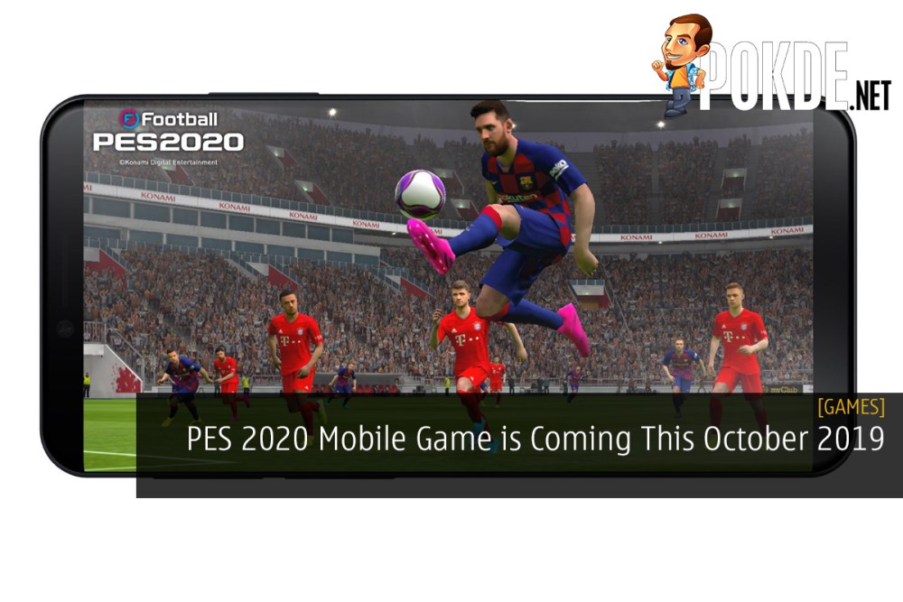 PES 2020 Mobile Game is Coming This October 2019