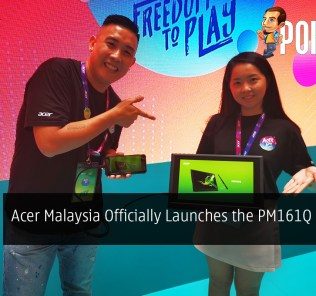 Acer Malaysia Officially Launches the PM161Q Portable Monitor