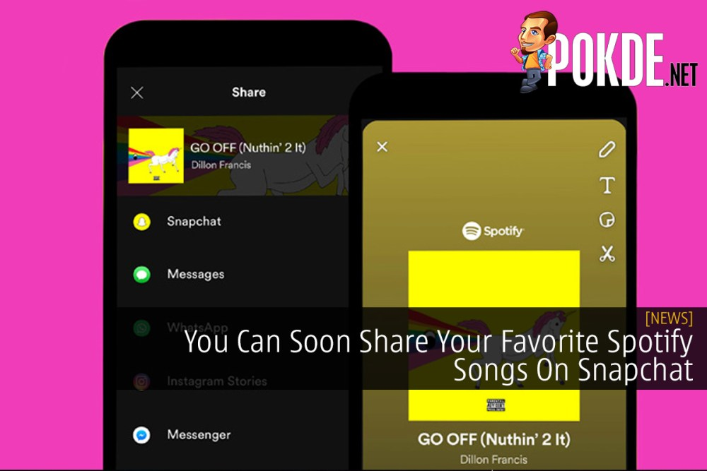 You Can Soon Share Your Favorite Spotify Songs On Snapchat 21