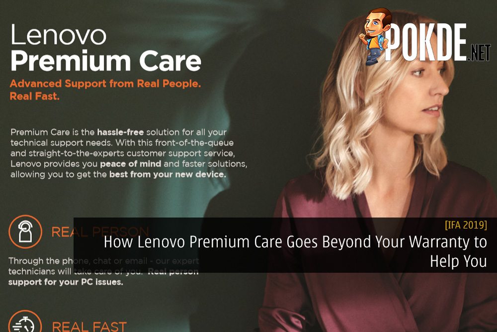 IFA 2019] How Lenovo Premium Care Goes Beyond Your Warranty