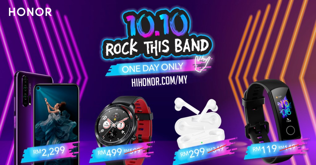 Enjoy Discounts On HONOR Products This 10.10 24