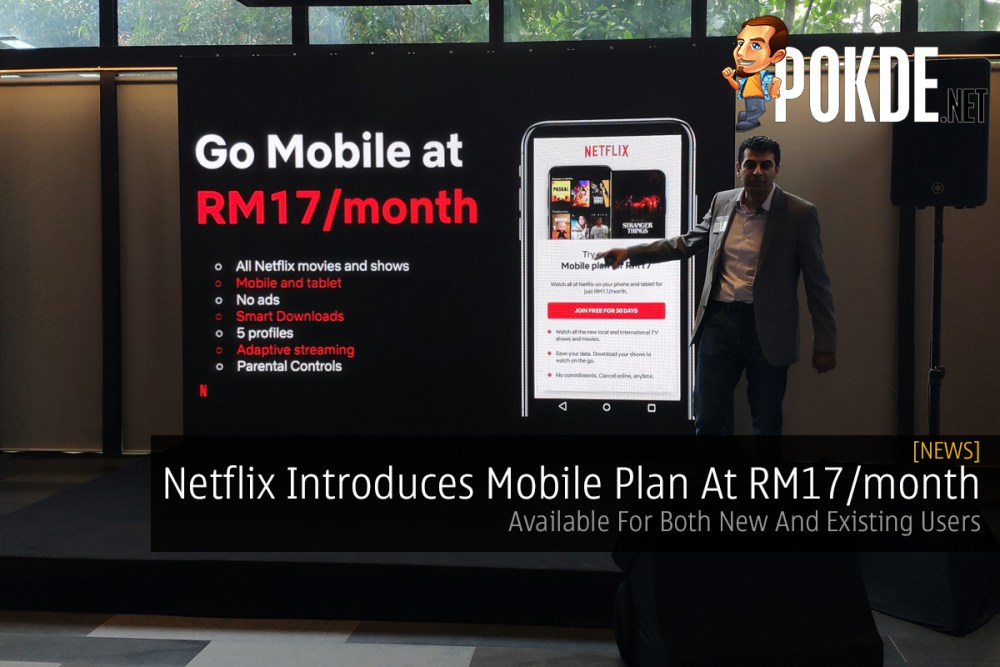 Netflix Introduces Mobile Plan At RM17/month — Available For Both New And Existing Users 34