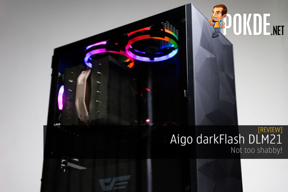 Aigo darkFlash DLM21 Review — not too shabby! 23