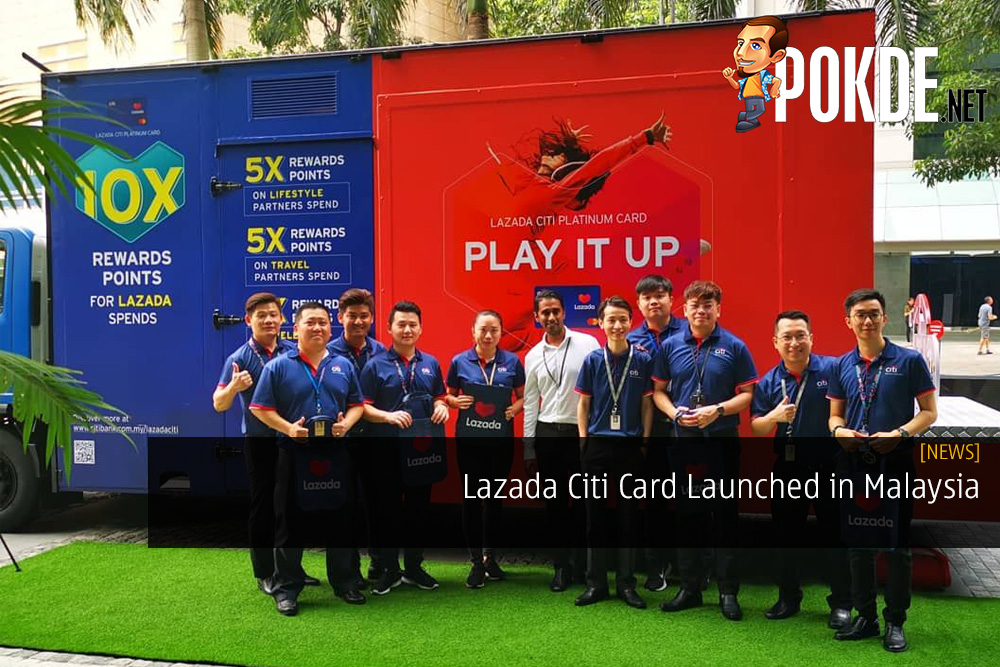 Lazada Citi Card Launched in Malaysia - Get the Best Rewards and Cashback on Lazada with This
