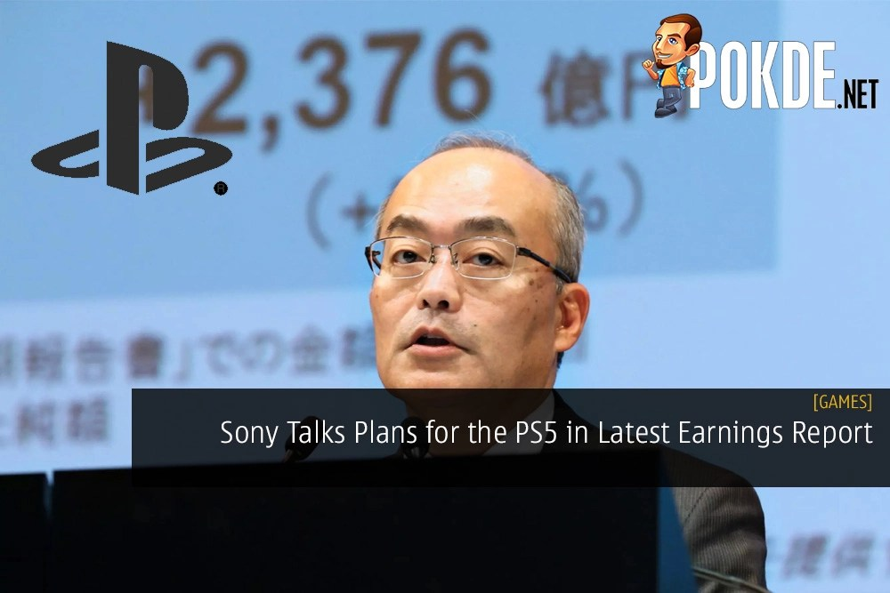 Sony Talks Plans for the PlayStation 5 in Latest Earnings Report