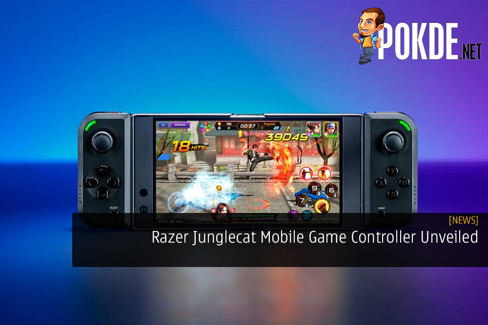 Razer Junglecat Mobile Game Controller Unveiled