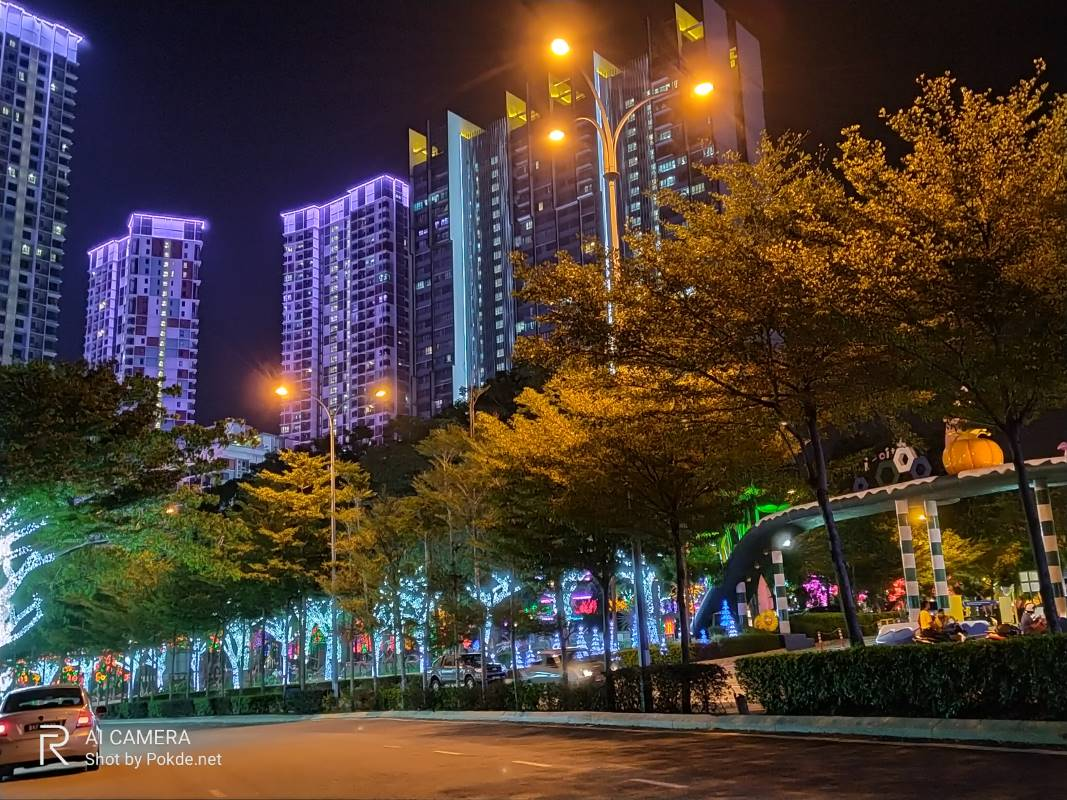 realme 5 Nightscape