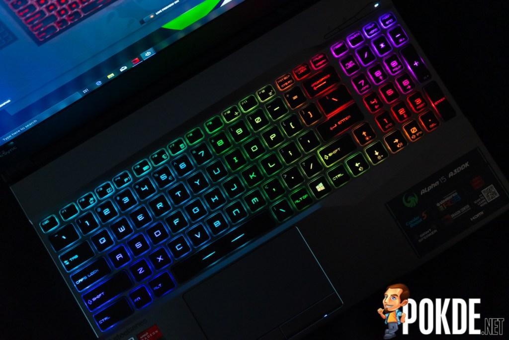 msi alpha 15 rgb keyboard