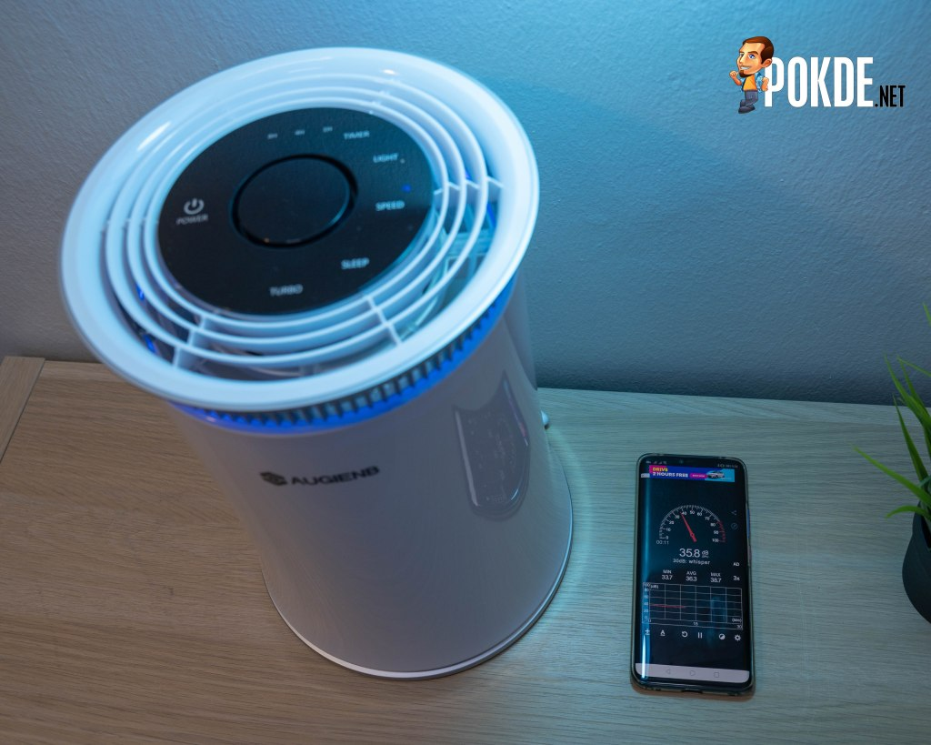 The curious case of AUGIENB HEPA Air Purifier 24