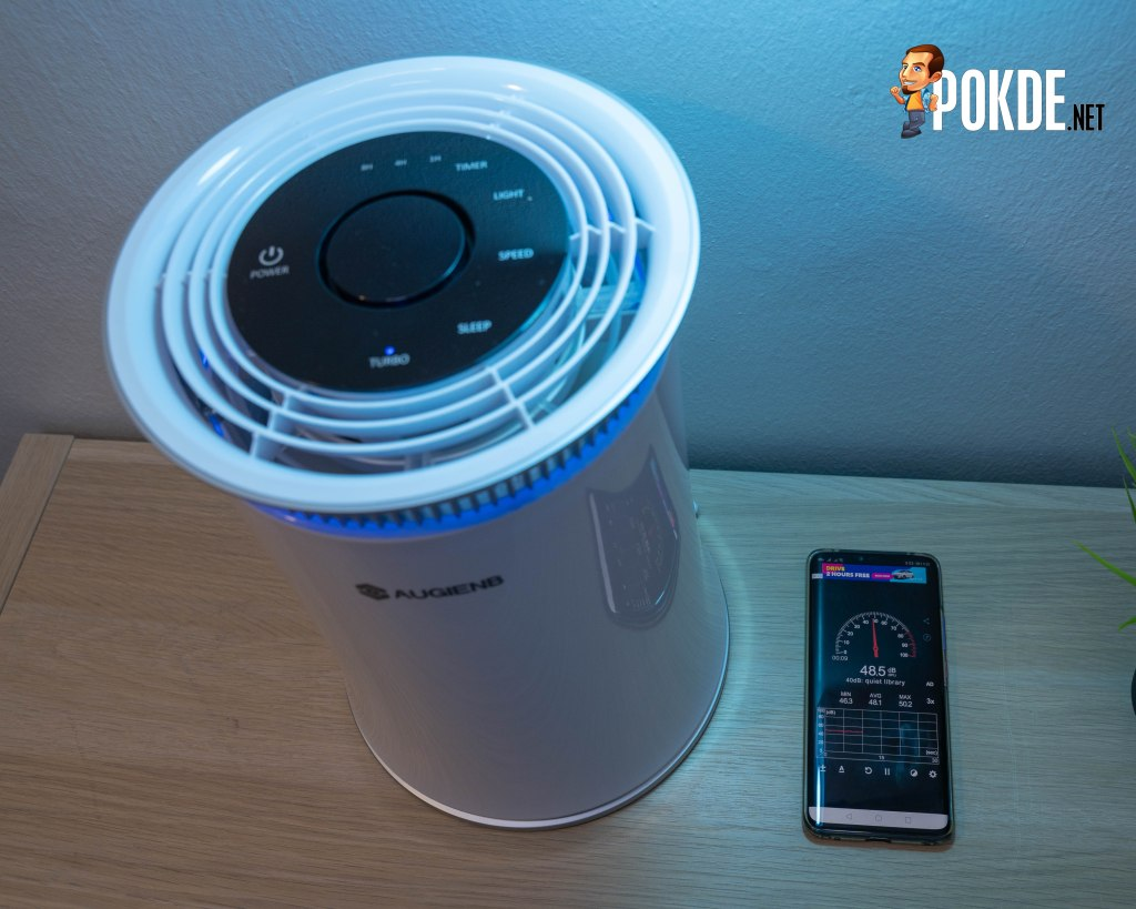 The curious case of AUGIENB HEPA Air Purifier 25
