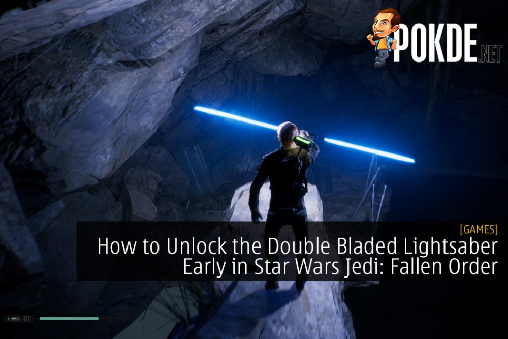 How to Unlock the Double Bladed Lightsaber Early in Star Wars Jedi: Fallen Order