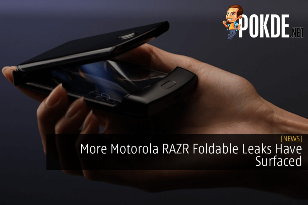 More Motorola RAZR Foldable Leaks Have Surfaced And It Looks Great