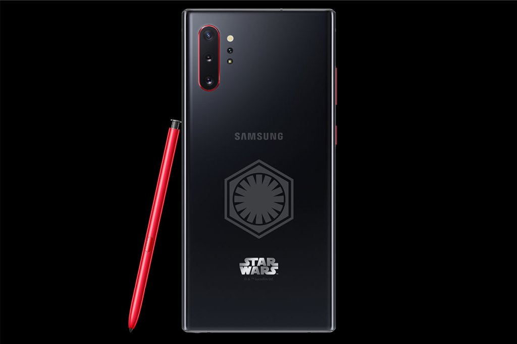 samsung galaxy note10+ star wars special edition