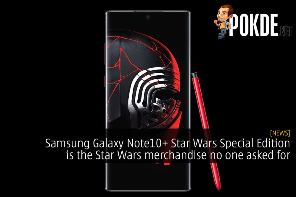 Samsung Galaxy Note10+ Star Wars Special Edition is the Star Wars merchandise no one asked for 26