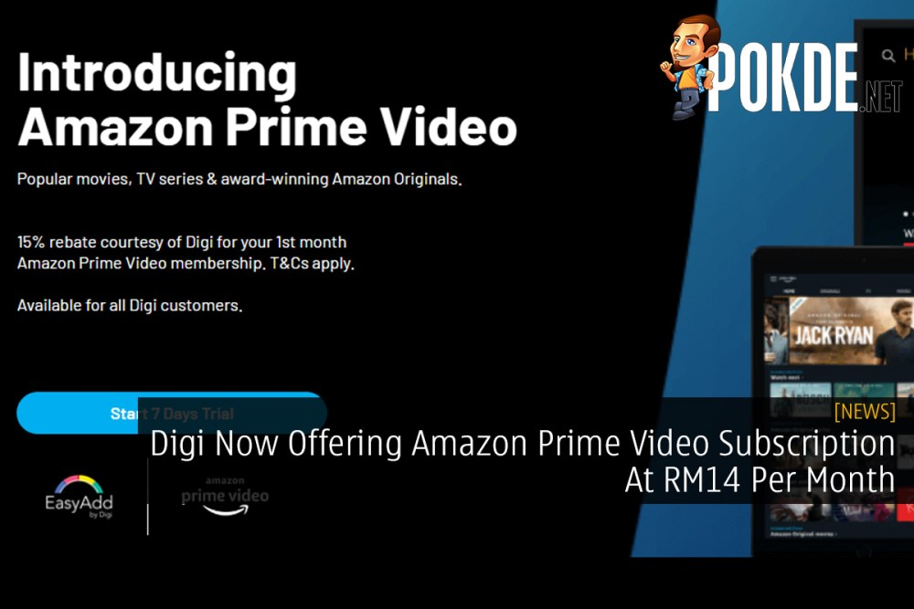 Digi Now Offering Amazon Prime Video Subscription At RM14 Per Month 34