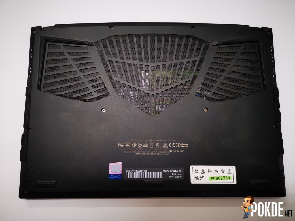 GIGABYTE AERO 15 XA OLED Laptop Review - Big Things Come in Small Packages 22