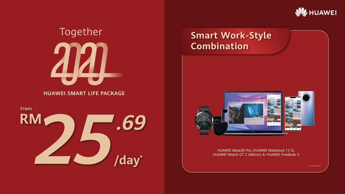 HUAWEI Smart Life Packages now offered from just RM8.97/day 25